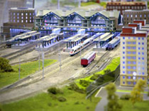 Model Train Railroad Layouts
